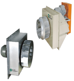 FANS FOR INDUSTRIAL OVENS